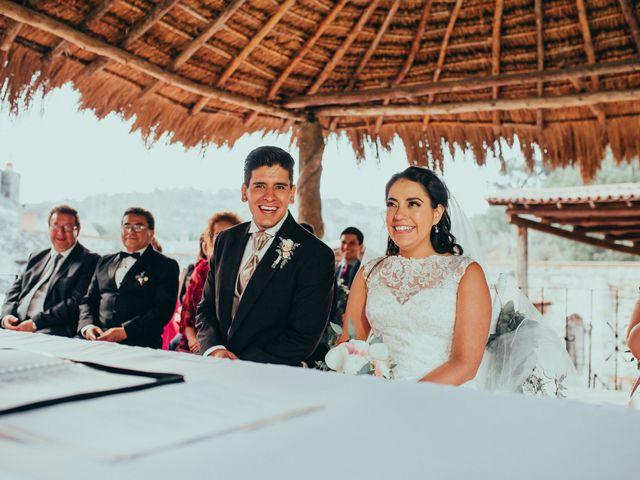 La boda de Israel y Samantha en Huasca de Ocampo, Hidalgo 52