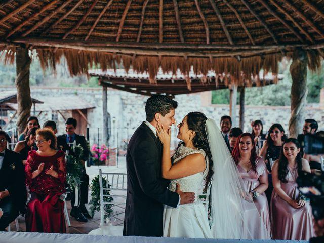 La boda de Israel y Samantha en Huasca de Ocampo, Hidalgo 54