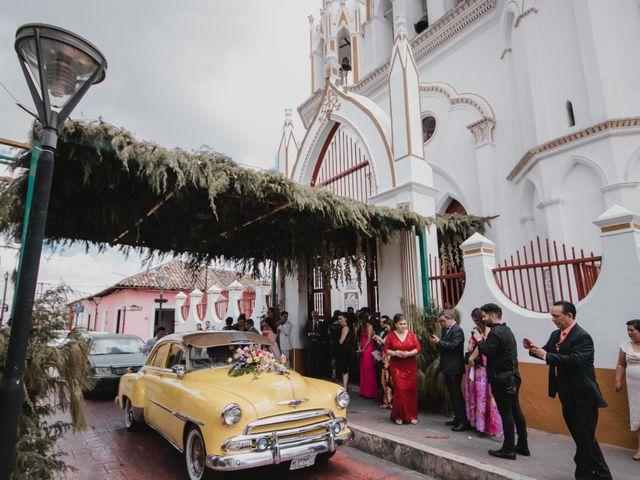 La boda de Fabián y Xareny en Comitán de Domínguez, Chiapas 25