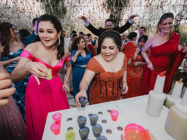 La boda de Fabián y Xareny en Comitán de Domínguez, Chiapas 77