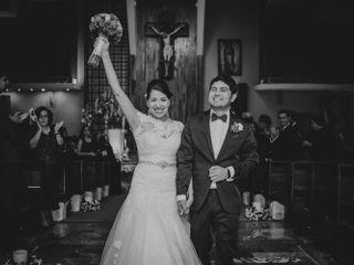 La boda de Yatzen y Luis