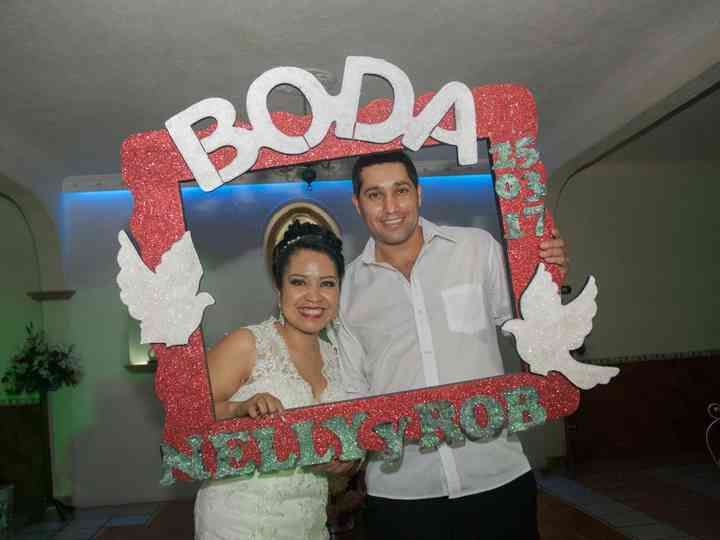 La boda de Nelly  y Robert