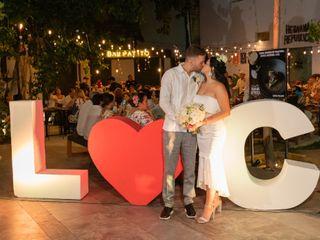 La boda de Lawrence y Carolina