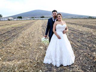 La boda de Bety y Adán