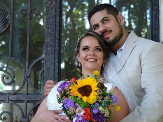 La boda de Lulú  y Ricardo