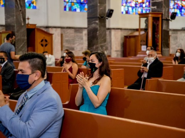 La boda de David y Leticia en Gustavo A. Madero, Ciudad de México 6