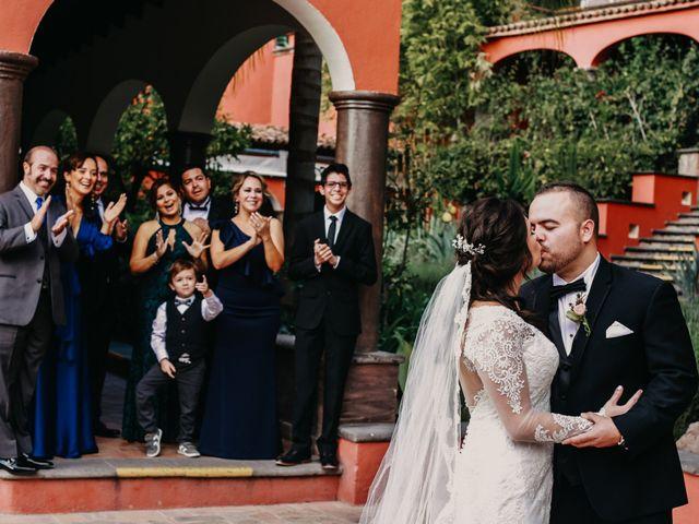 La boda de Diego y Andrea en San Miguel de Allende, Guanajuato 16