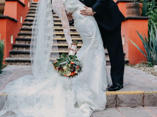 La boda de Diego y Andrea en San Miguel de Allende, Guanajuato 18