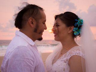 La boda de Zughey y Juan