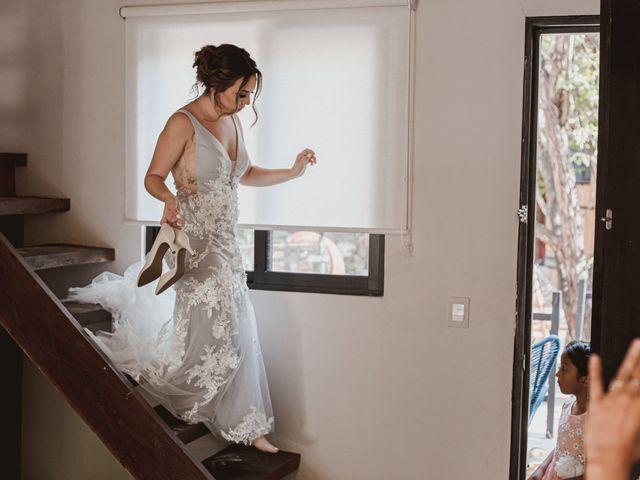 La boda de Danny y Erica en Tulum, Quintana Roo 9