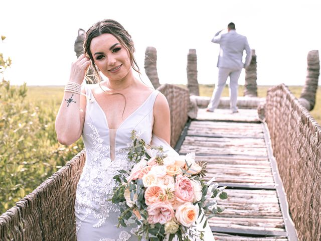 La boda de Danny y Erica en Tulum, Quintana Roo 13