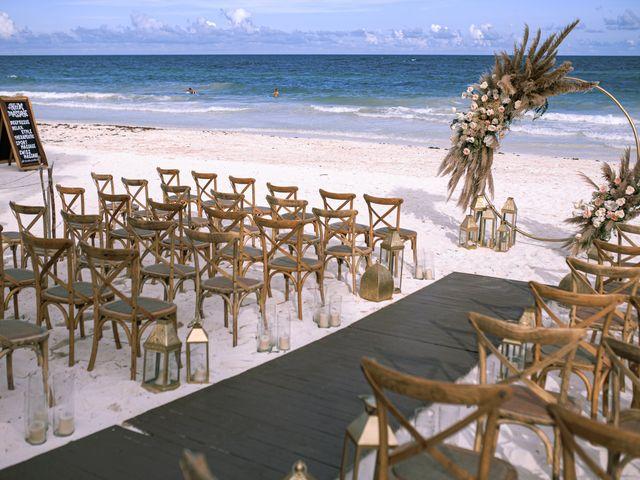 La boda de Danny y Erica en Tulum, Quintana Roo 10