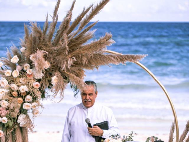 La boda de Danny y Erica en Tulum, Quintana Roo 17
