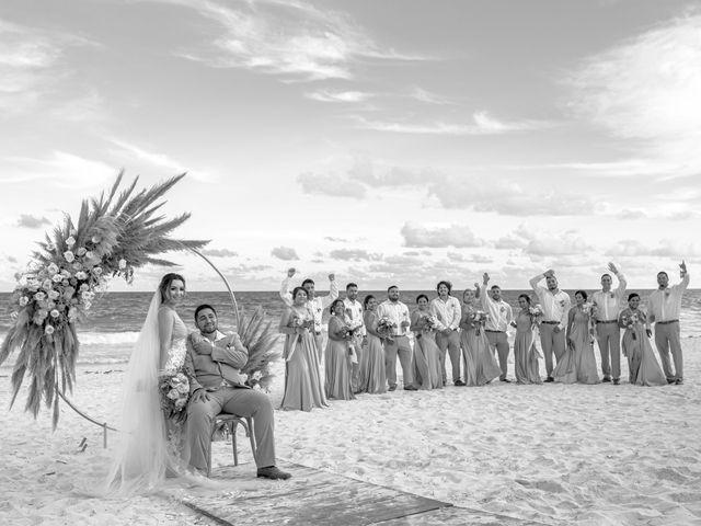 La boda de Danny y Erica en Tulum, Quintana Roo 18