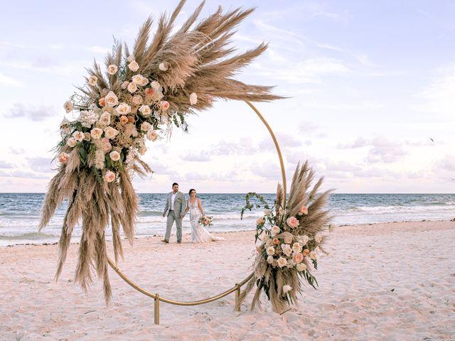 La boda de Danny y Erica en Tulum, Quintana Roo 3
