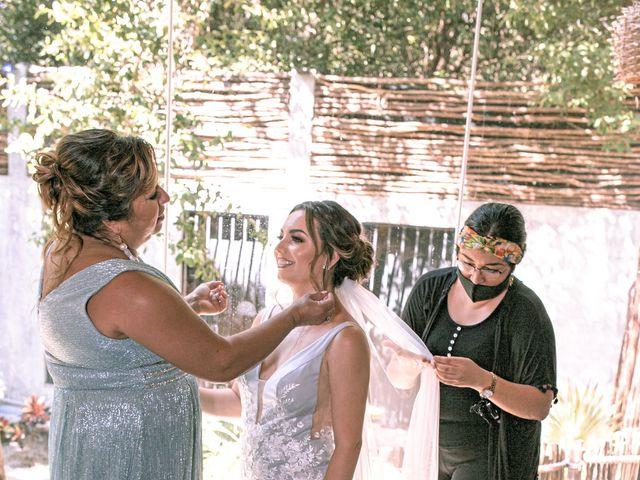 La boda de Danny y Erica en Tulum, Quintana Roo 8
