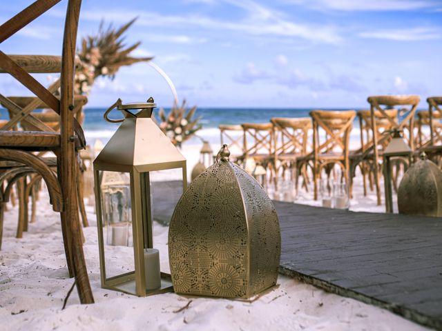 La boda de Danny y Erica en Tulum, Quintana Roo 14
