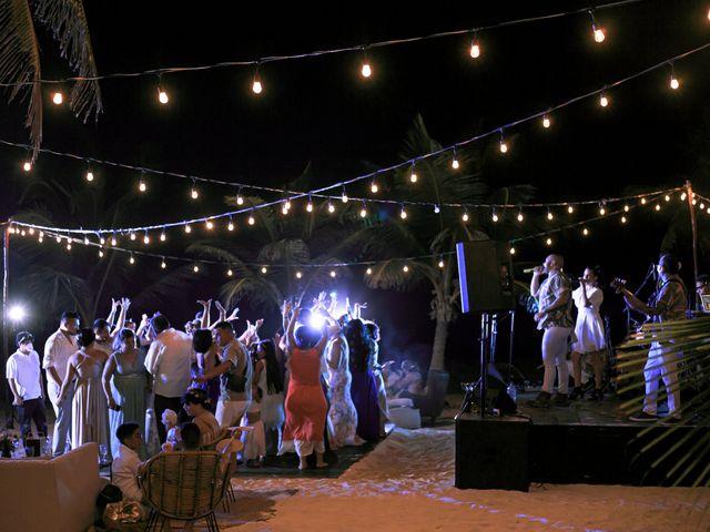 La boda de Danny y Erica en Tulum, Quintana Roo 23