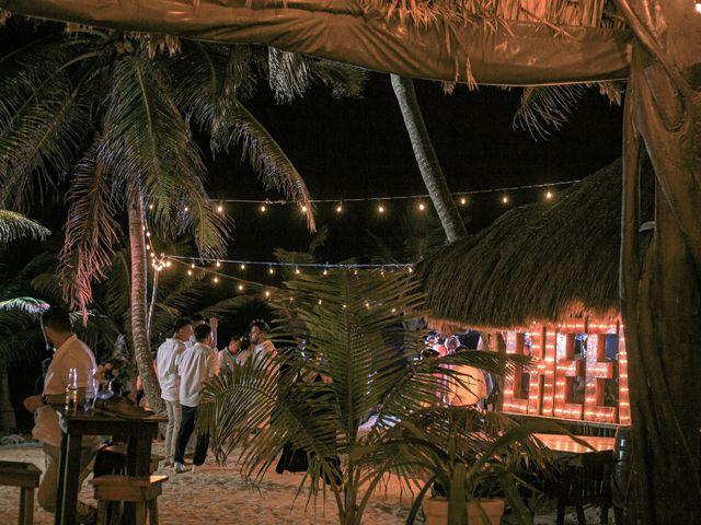 La boda de Danny y Erica en Tulum, Quintana Roo 25