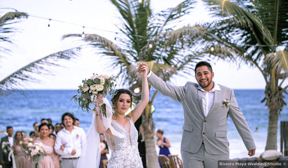 La boda de Danny y Erica en Tulum, Quintana Roo