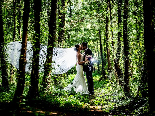 La boda de Stephanie y Angel