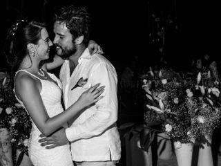 La boda de Thaís y Daniel