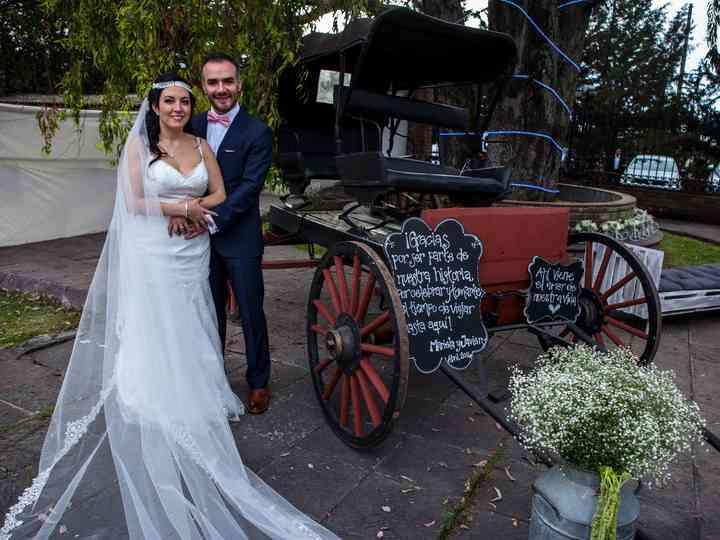 La boda de Mariela y Javier