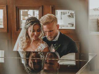 La boda de Paula y Pontus