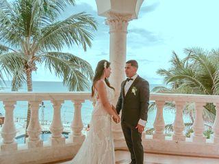 La boda de Victoria y Manuel