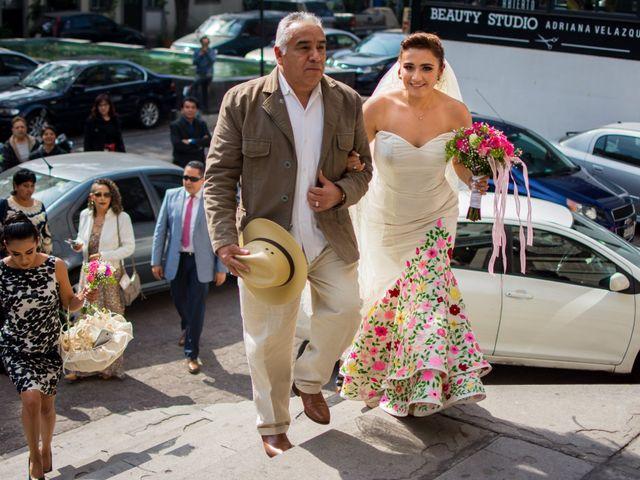 La boda de Gustavo y Renata en Miguel Hidalgo, Ciudad de México 22