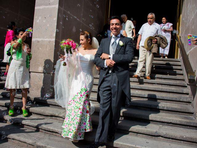 La boda de Gustavo y Renata en Miguel Hidalgo, Ciudad de México 32