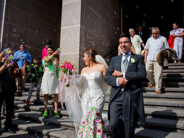 La boda de Gustavo y Renata en Miguel Hidalgo, Ciudad de México 33