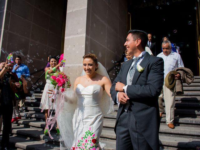La boda de Gustavo y Renata en Miguel Hidalgo, Ciudad de México 34