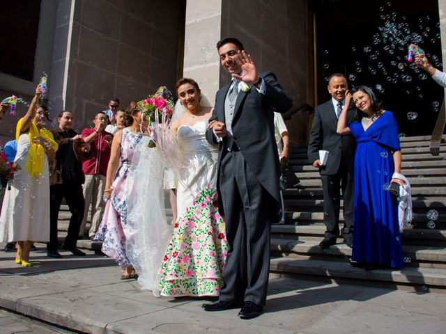 La boda de Gustavo y Renata en Miguel Hidalgo, Ciudad de México 35