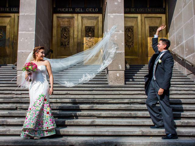 La boda de Gustavo y Renata en Miguel Hidalgo, Ciudad de México 2