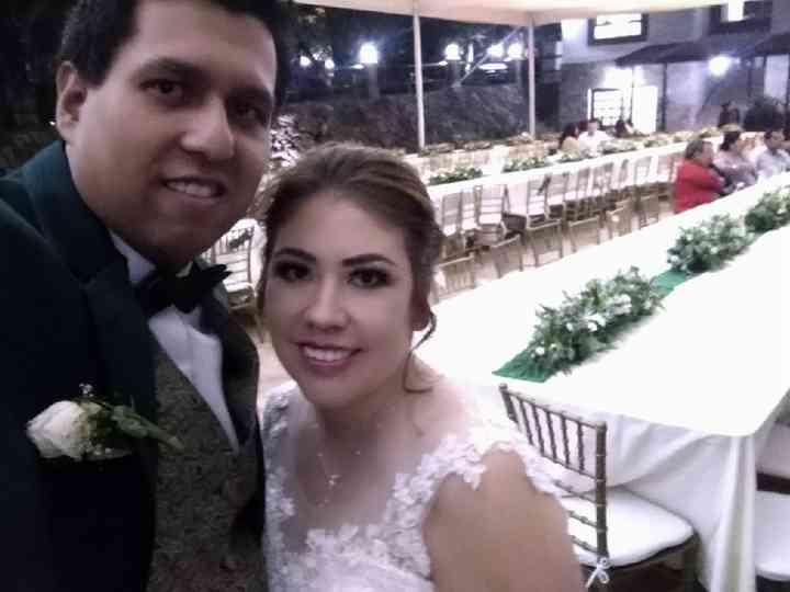 La boda de Ninfa  y Edson