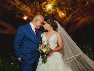 La boda de Gio y Luis