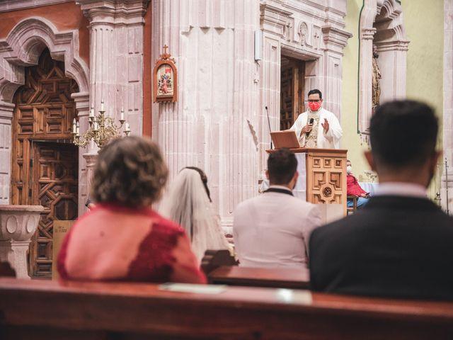 La boda de Emilio y Daniela en Guadalupe, Zacatecas 16