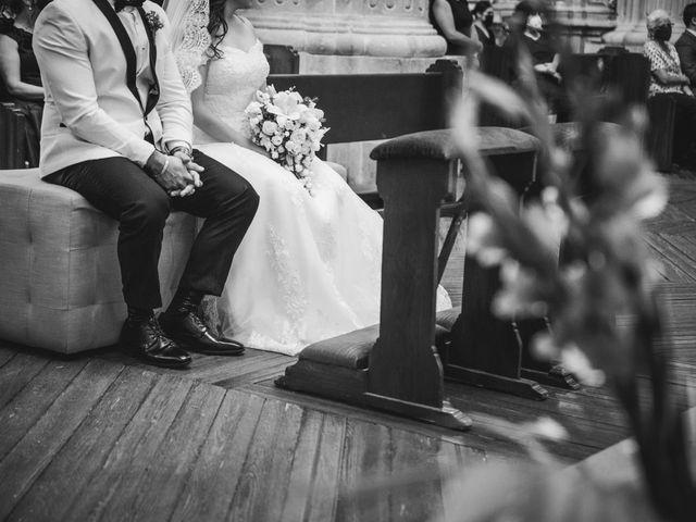 La boda de Emilio y Daniela en Guadalupe, Zacatecas 17