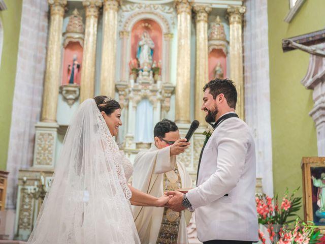 La boda de Emilio y Daniela en Guadalupe, Zacatecas 18
