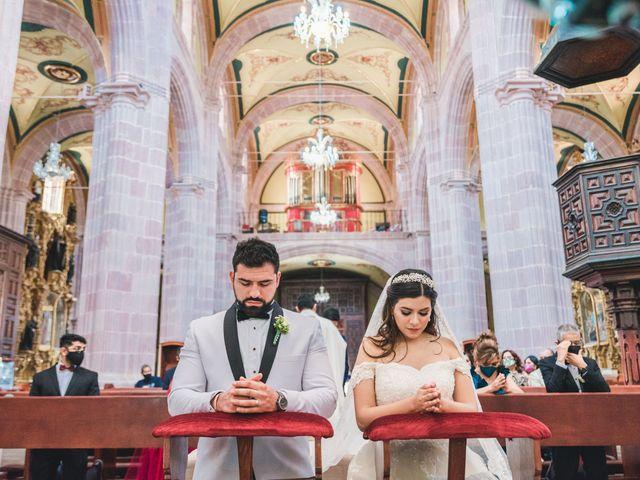 La boda de Emilio y Daniela en Guadalupe, Zacatecas 20