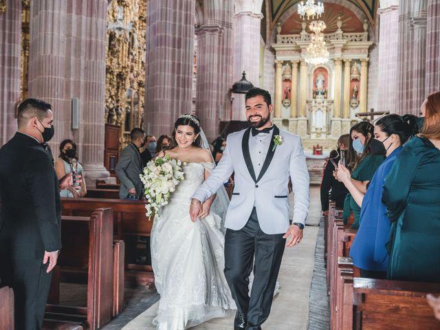 La boda de Emilio y Daniela en Guadalupe, Zacatecas 21