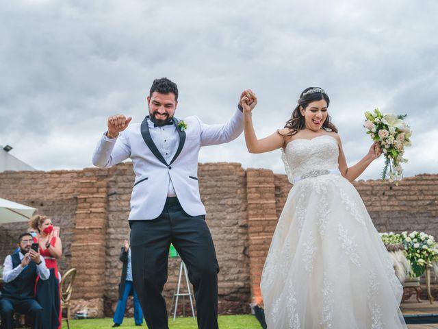 La boda de Emilio y Daniela en Guadalupe, Zacatecas 39