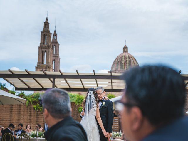 La boda de Emilio y Daniela en Guadalupe, Zacatecas 44