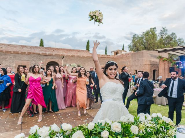 La boda de Emilio y Daniela en Guadalupe, Zacatecas 57