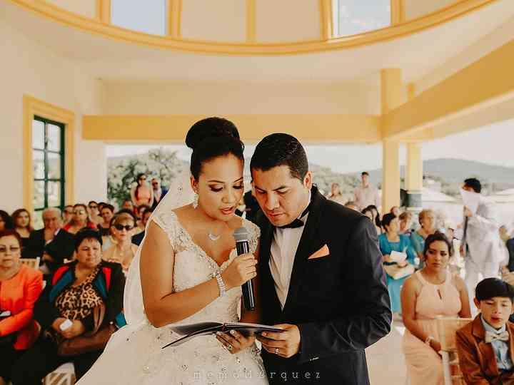 La boda de Male y Julio