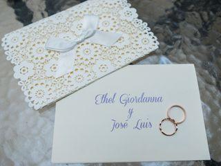 La boda de José Luis y Ethel Giordanna 3