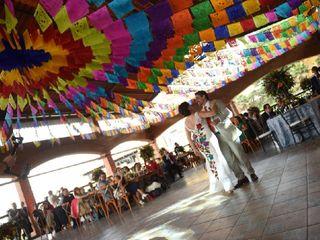 La boda de Fernanda Fossas y Mauricio Rueda