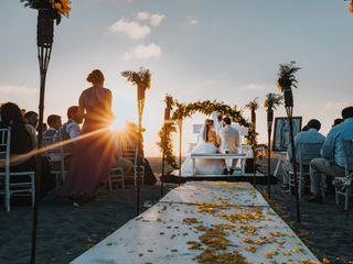 La boda de Caro y Marco