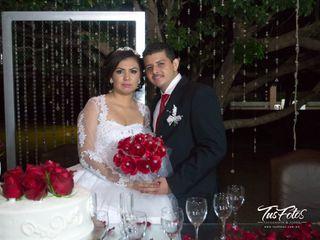 La boda de Rosalía y José